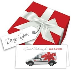 Red Wrap It! Gift Wrap Service