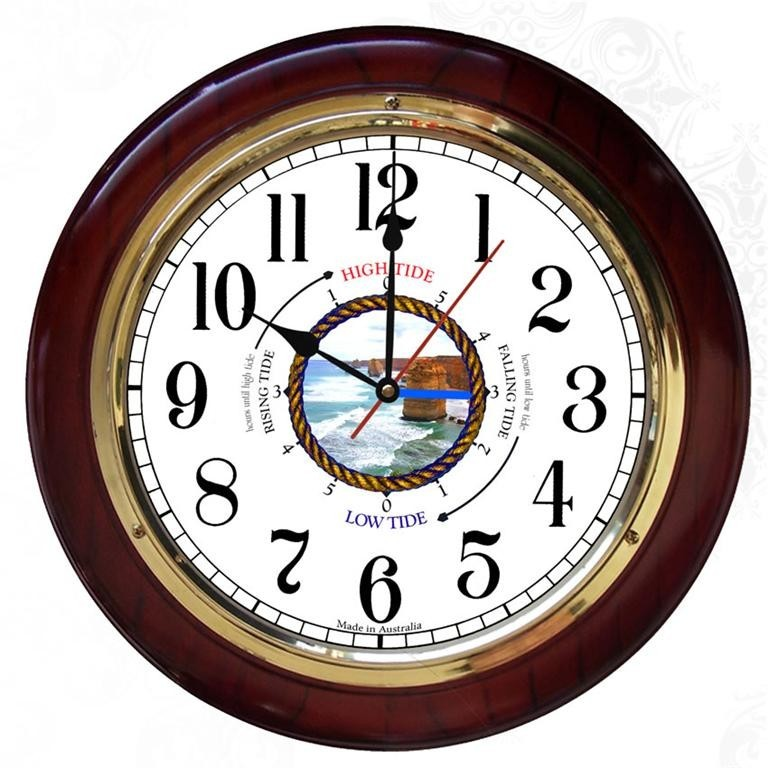 how to read a tide clock