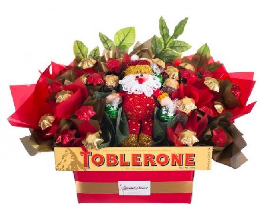 Christmas Hampers.Christmas Hamper Santa S Garden Red Wrappings